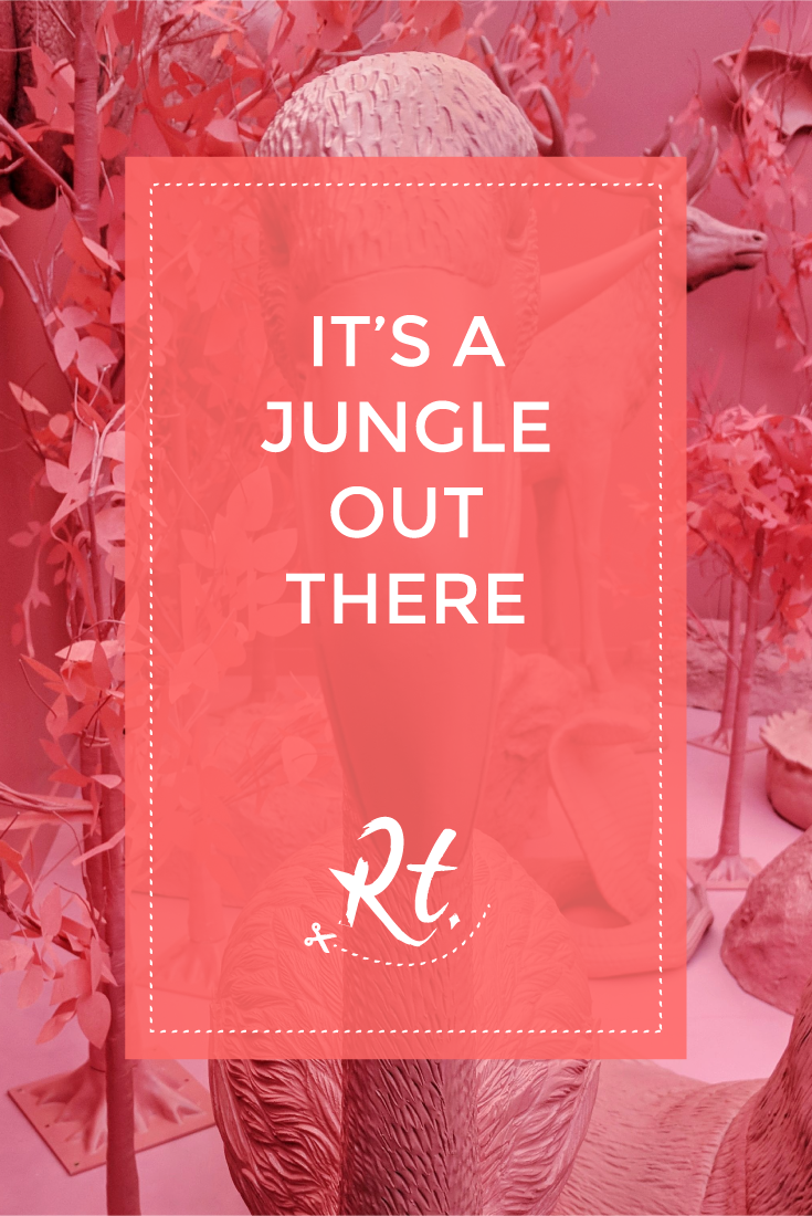 It's a Jungle Out There by Rosh Thanki, Pink Safari, Google Simulation Room to win a Google Home Mini