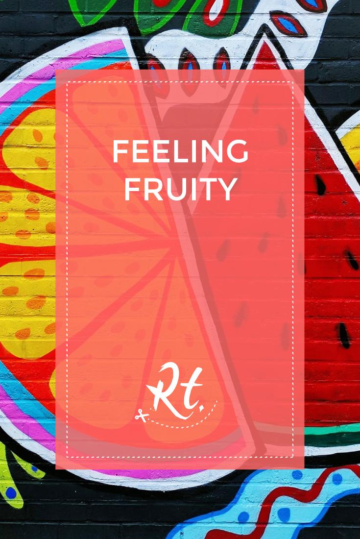 Feeling Fruity, by Rosh Thanki, Paula Plim's tropical fruit camden street art