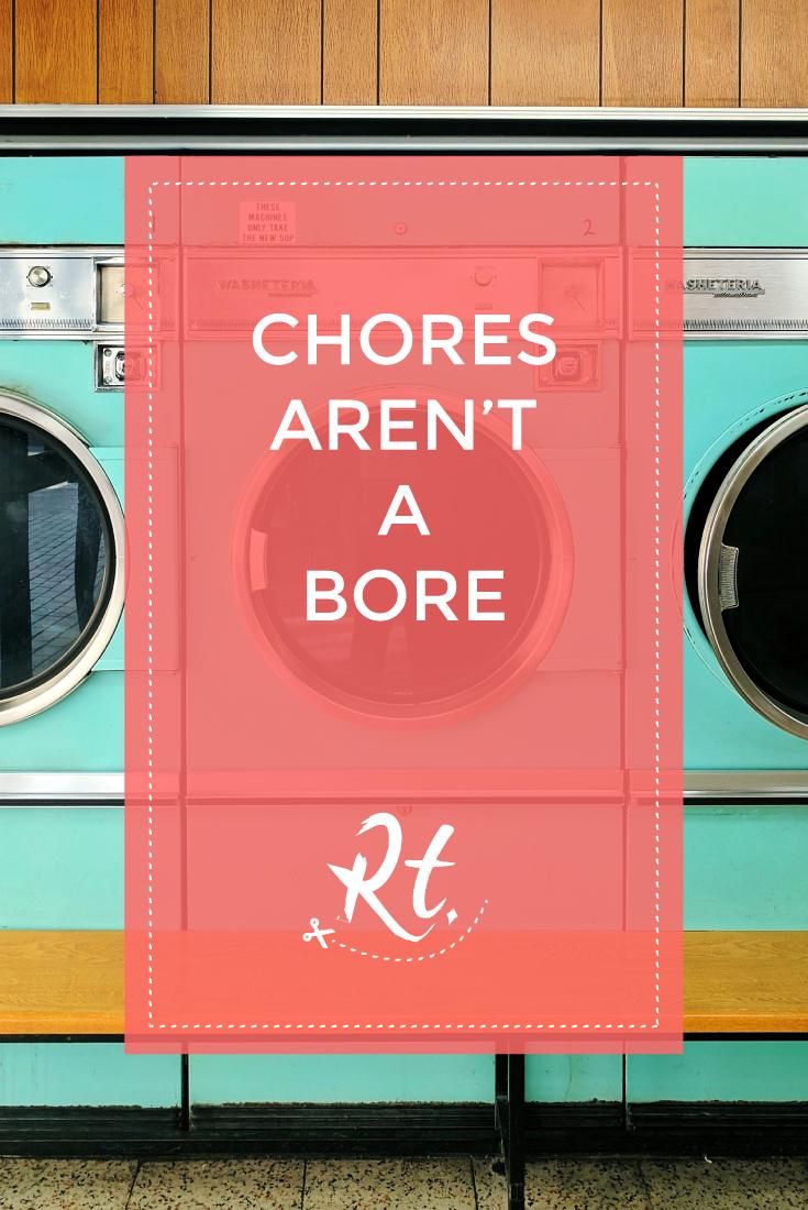 Chores Aren't a Bore, by Rosh Thanki, barbican retro laundrette
