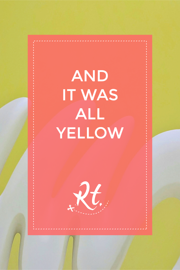 And It Was All Yellow by Rosh Thanki, 'Echoes' by Marguerite Humeau at the Tate Britain.png