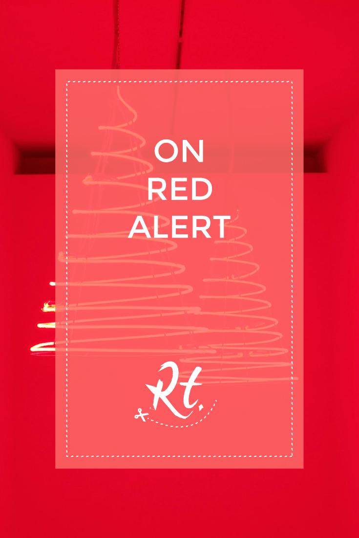 On Red Alert by Rosh Thanki, Medusa exhibition at the Musée d'Art moderne de la Ville de Paris