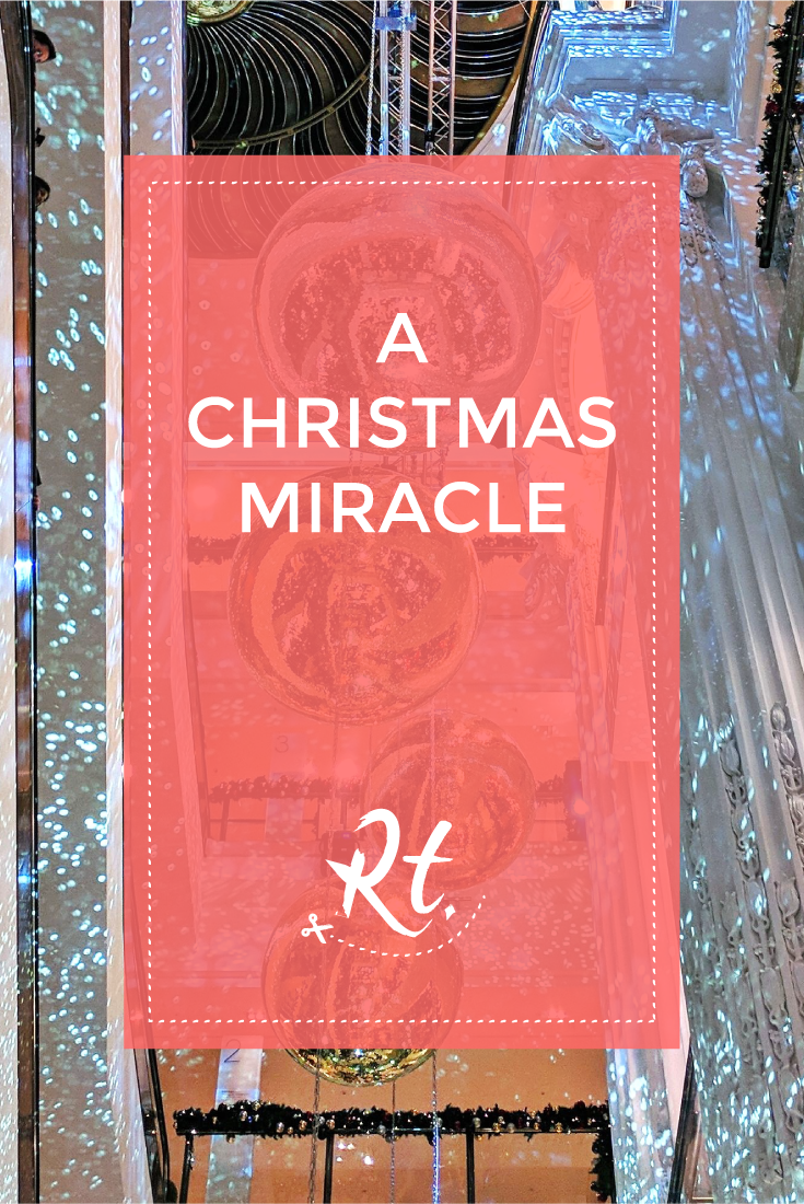 A Christmas Miracle by Rosh Thanki, selfridges christmas decorations