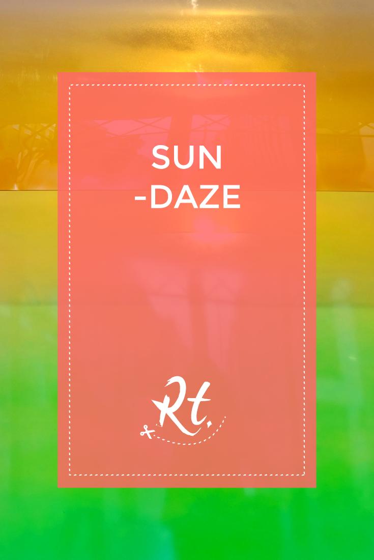 Sun-daze by Rosh Thanki, minimalist sculpture by craig kauffman at spruth magers