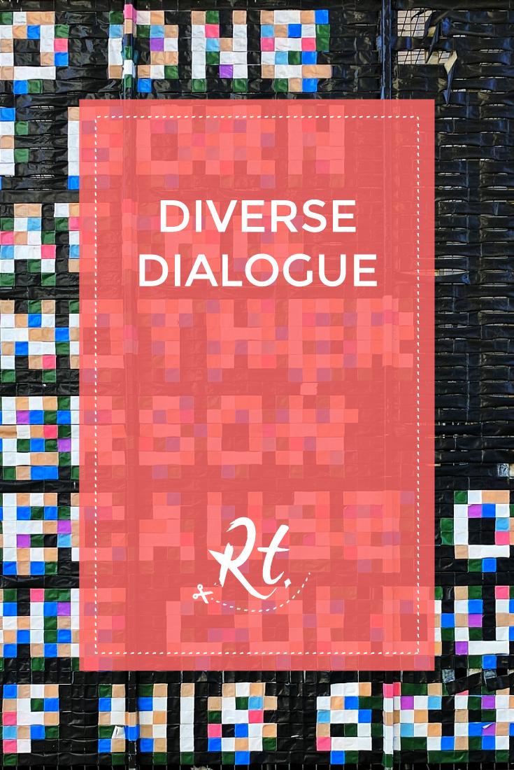 Diverse Dialogue by Rosh Thanki, Nelson Mandela's words at Palais de Tokyo by Thibaut Vankemmel