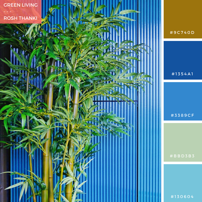 Colour Palette for Tiles from Green Living by Rosh Thanki, mapleton crescent development by pocket living