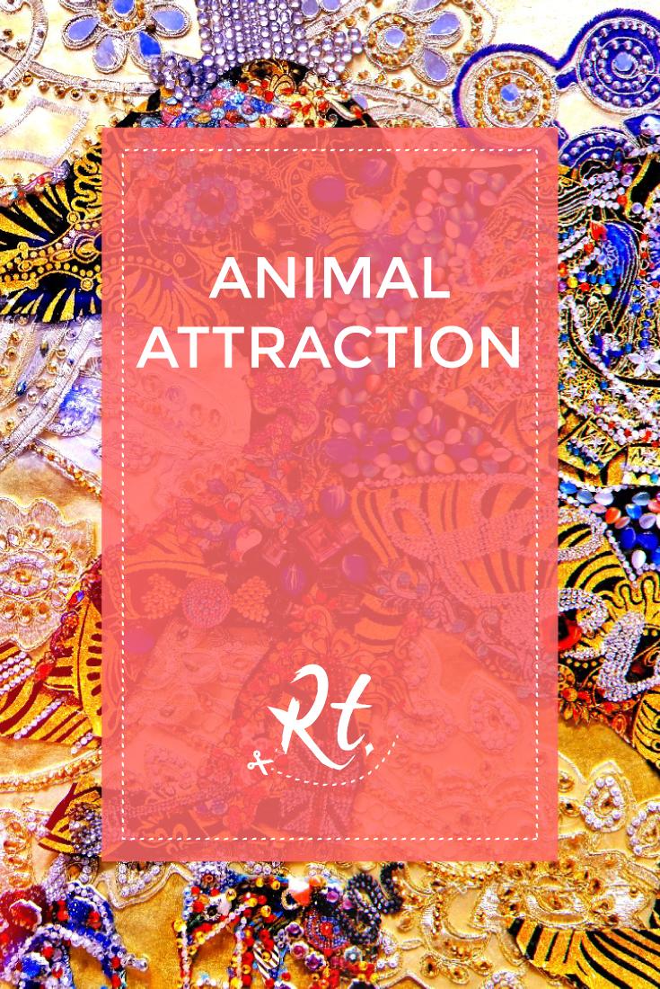 Animal Attraction by Rosh Thanki, Chila Kumari Burman artwork at the science museum