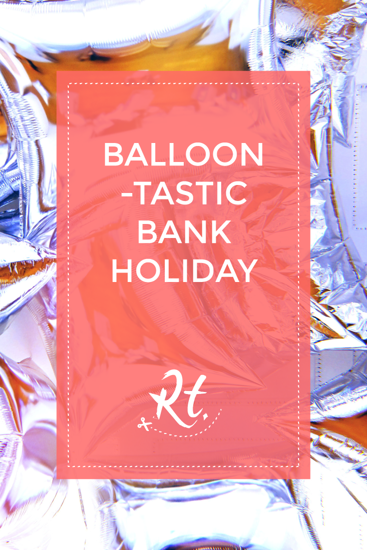 Balloon-tastic Bank Holiday by Rosh Thanki, Elaine Sturtevant's imitation of Andy Warhol's Silver Clouds Installation