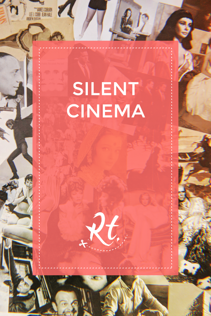 SIlent Cinema by Rosh Thanki, famous actors wallpaper at barbican cinema