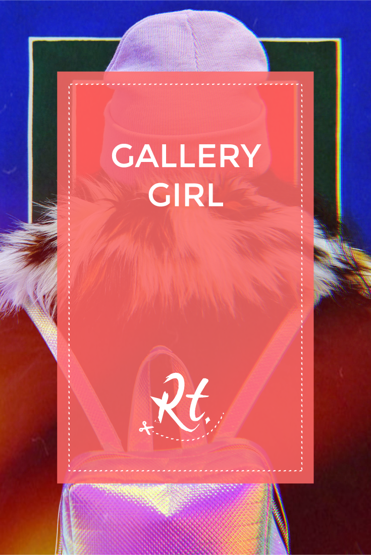 Gallery Girl by Rosh Thanki, looking at Elaine Sturtevant's exhibition at Thaddaeus Ropac
