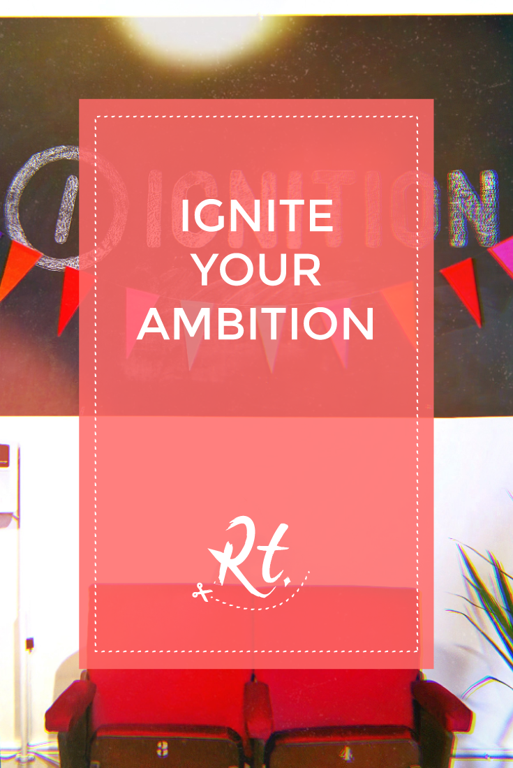 Ignition Your Ambition by Rosh Thanki, office interior at ignition creative london