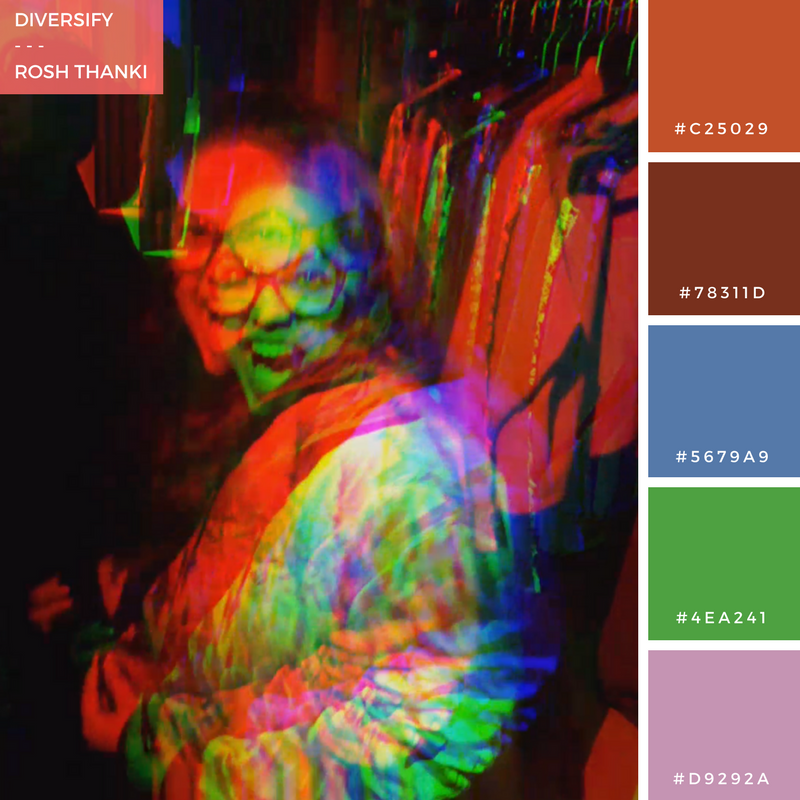 Colour Palette for Diversify by Rosh Thanki, GIF