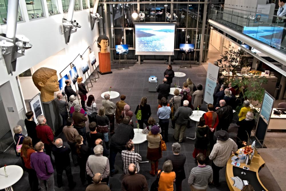 Vernissage in Regensburg (20.01.2014)