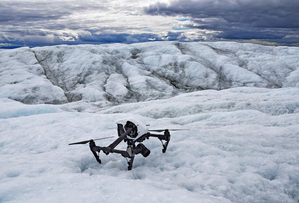 Nach langen Überlegungen war ich dem Traum von der Multicopter-Luftbildfotografie über dem Grönländischen Eisschild einen großen Schritt näher gekommen.