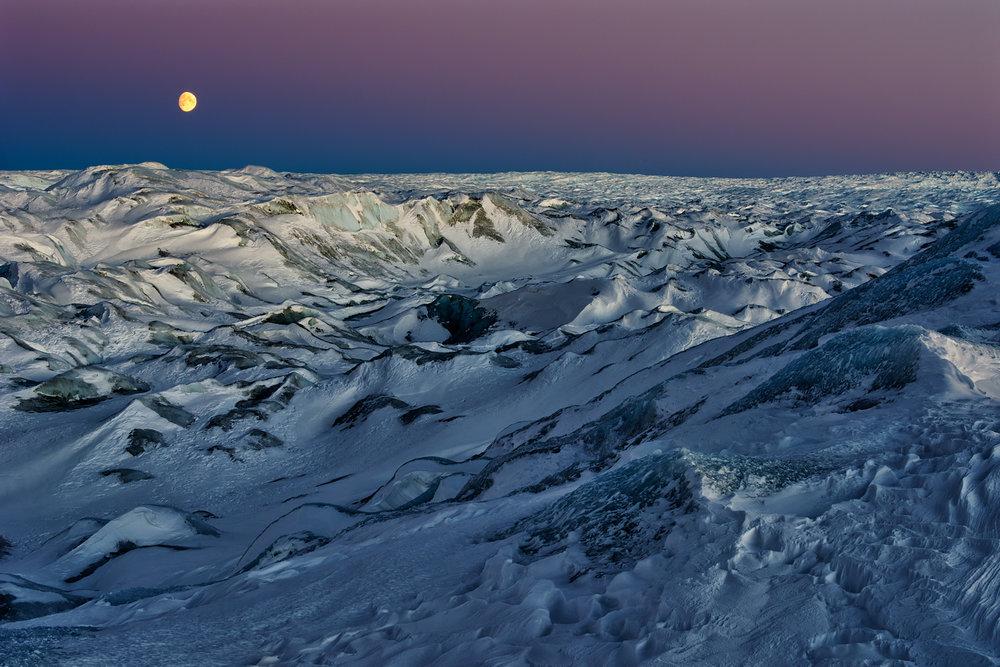 Moon Over The Icecap II