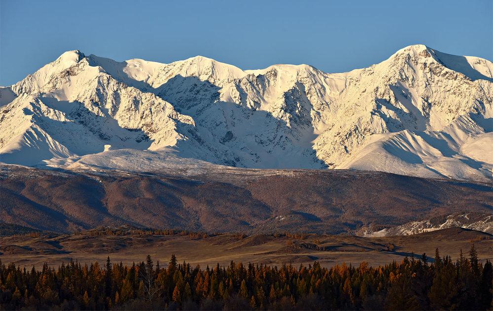 Fremd und ehrfurchgebietend: das Altai-Gebirge