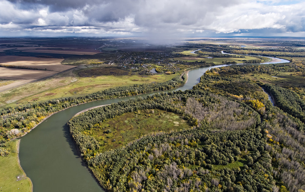 Unendlich und flach: die Westsibirische Tiefebene