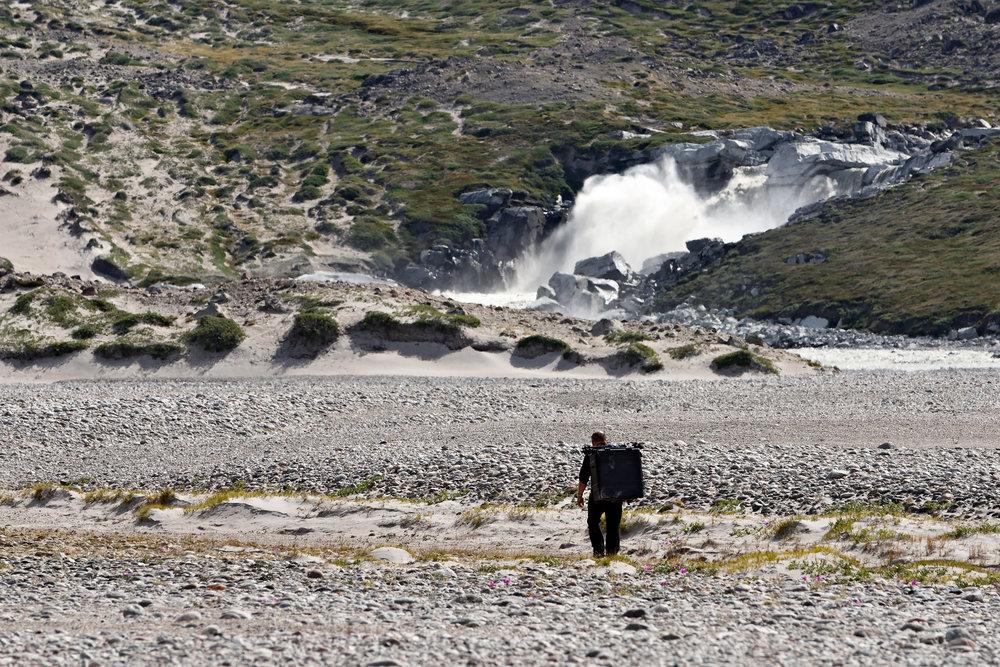 …aber immerhin ermöglichte es uns, die Ausrüstung auch über mehrere Kilometer in weglosem Gelände ans Ziel zu bringen.