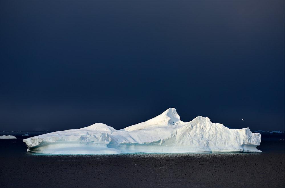 Blue Night & Iceberg