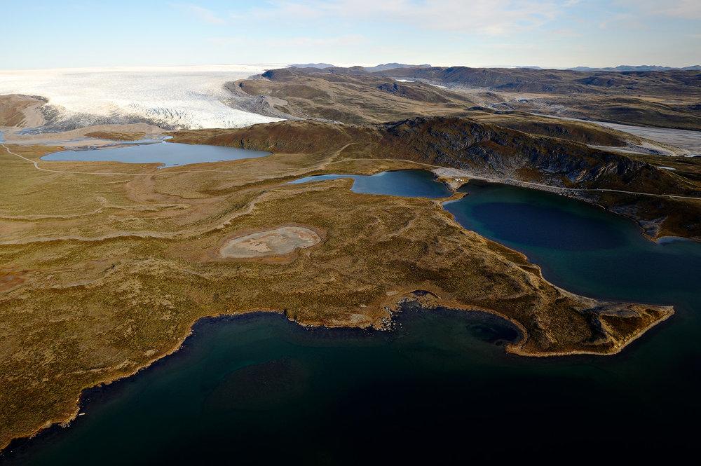 Long Lake & Russell Glacier