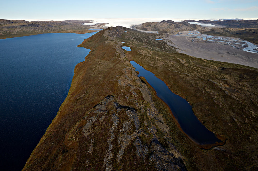 Long Lake, Russel Glacier & Desert Valley