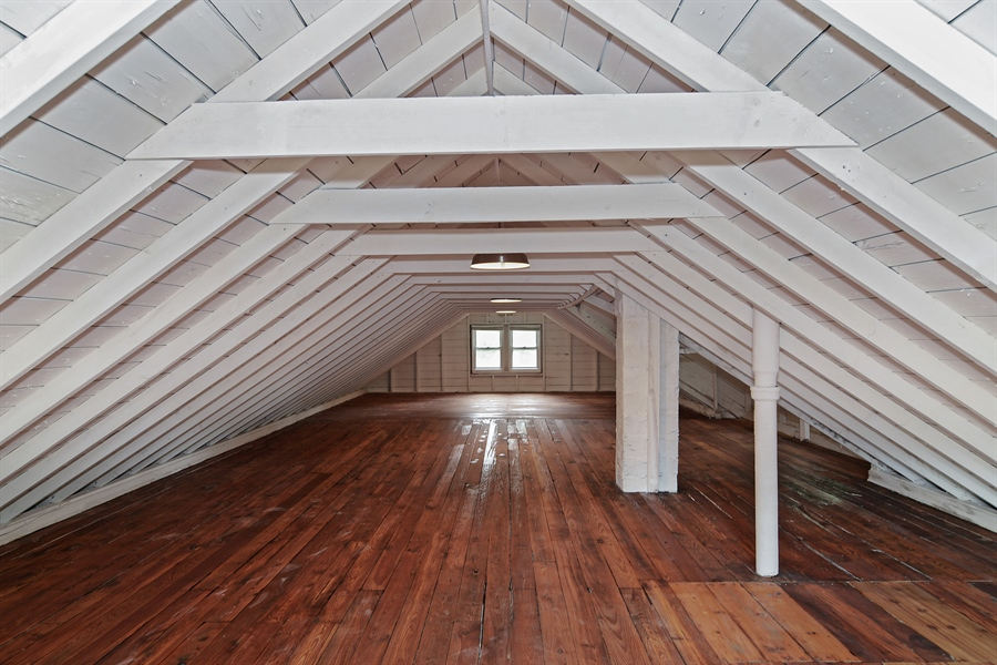 An attic is not to be forgotten