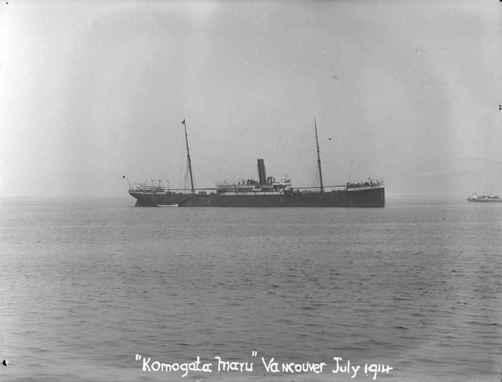 Komagata Maru in Vancouver Harbour.jpg