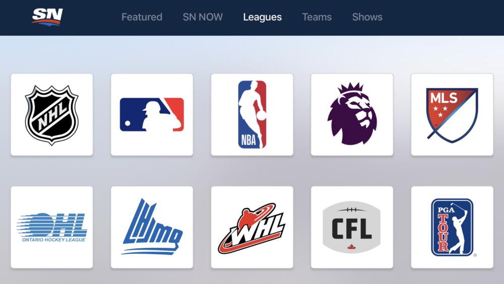 SportsnetNowLeaguesScreenShot.png