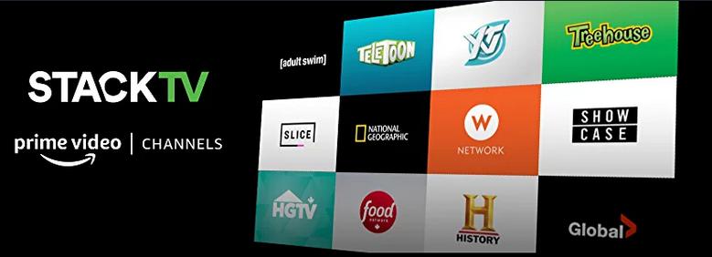 Corus launches Amazon Channel 'Stack TV'  What is it, how