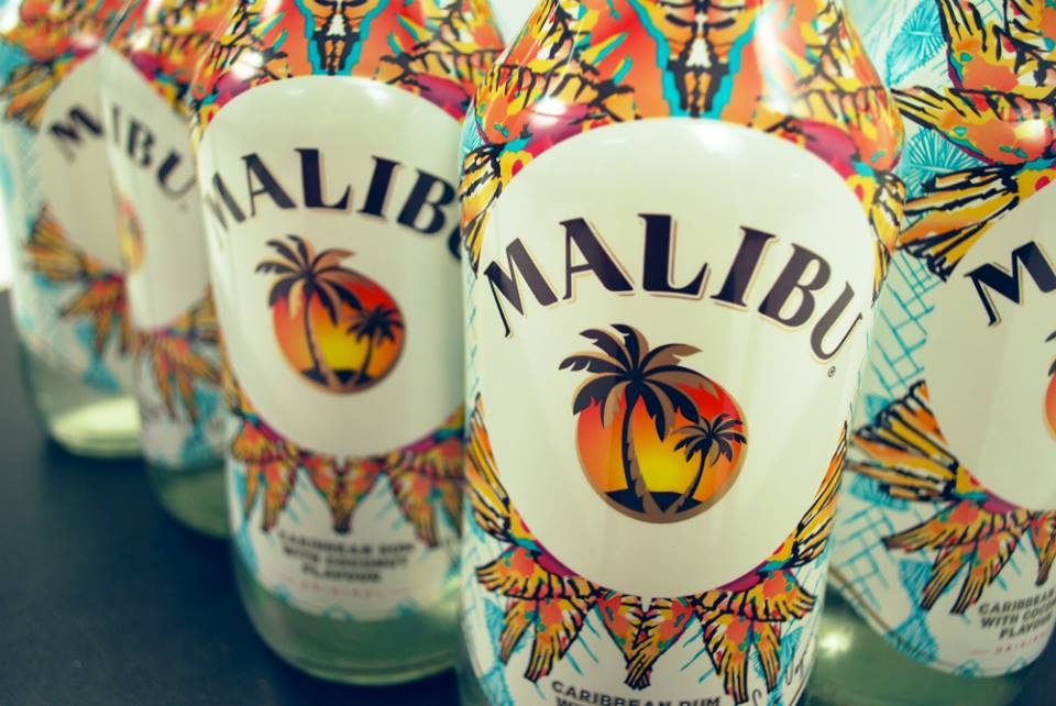 Malibu Rum Collaboration- Spring Summer 14