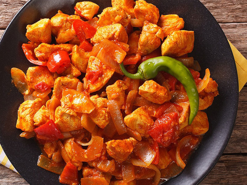 Chicken Jalfrezi -