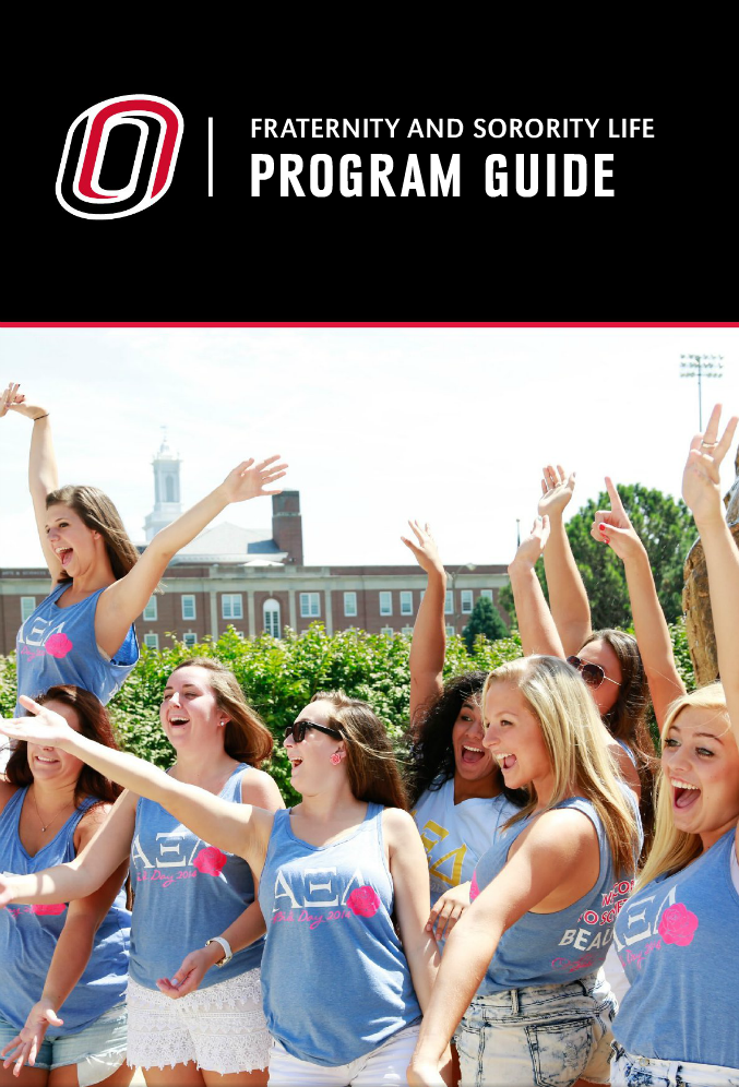 Click Here To See The 2015 UNO Fraternity & Sorority Life Program Guide