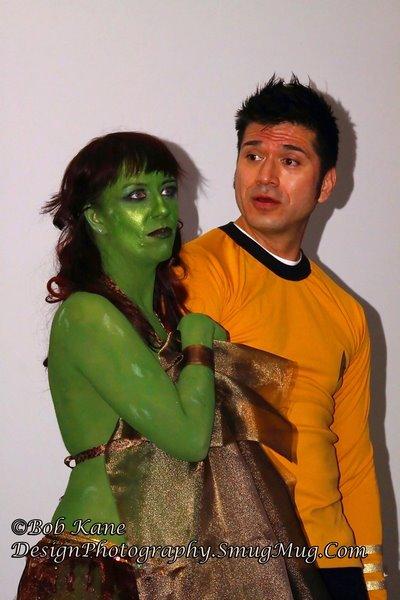 Navaar and Captain Kirk, Galaxy Fest 2012, Bob Kane Design Photography