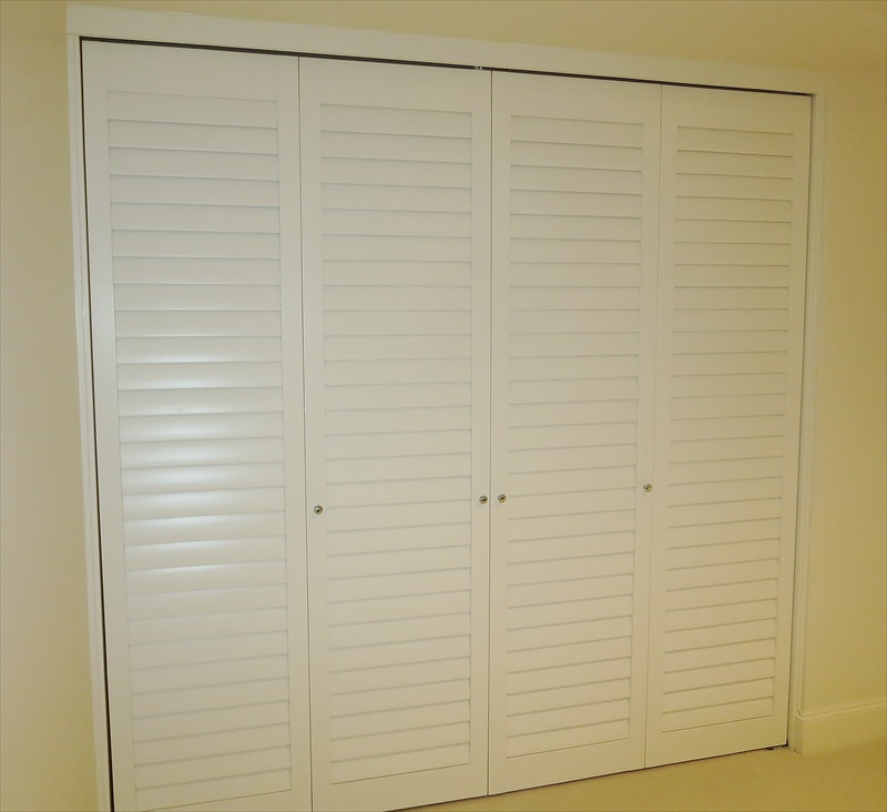 Louver doors 8.jpg & Louver Doors u0026 Wood Shutters in Seattle Bellevue Sammamish ...
