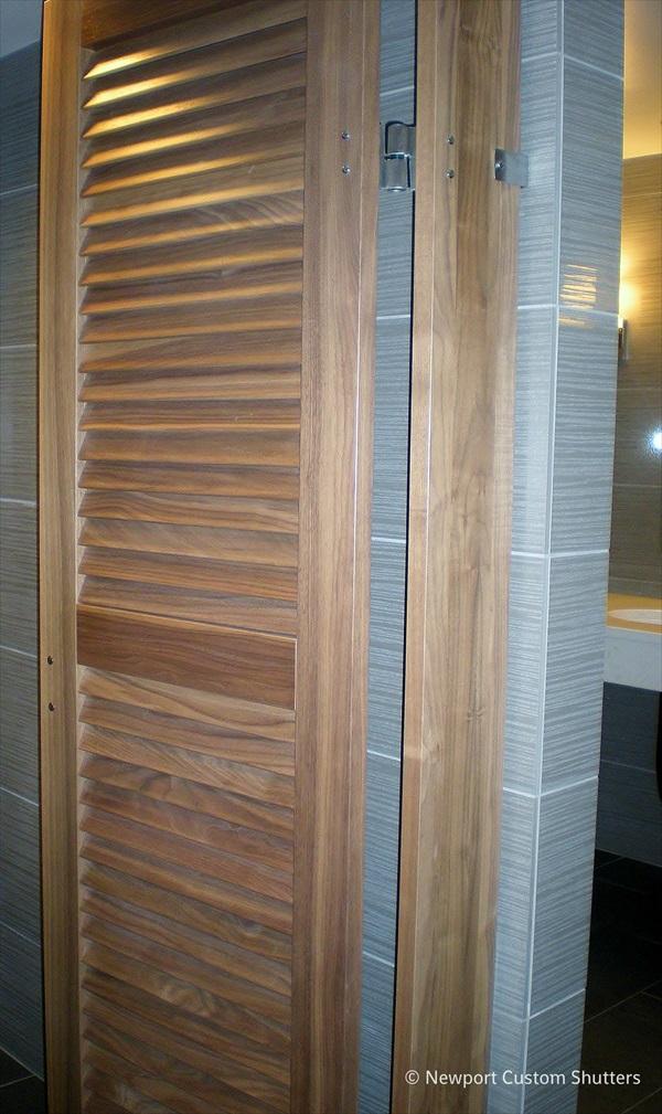 Louver doors 4.jpg & Louver Doors u0026 Wood Shutters in Seattle Bellevue Sammamish ... pezcame.com