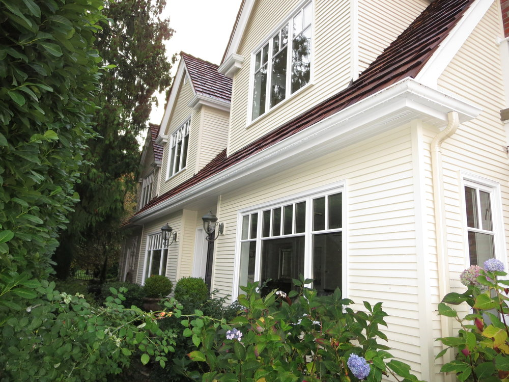Exterior Shutters for Cape Cod Home — Newport Custom Shutters