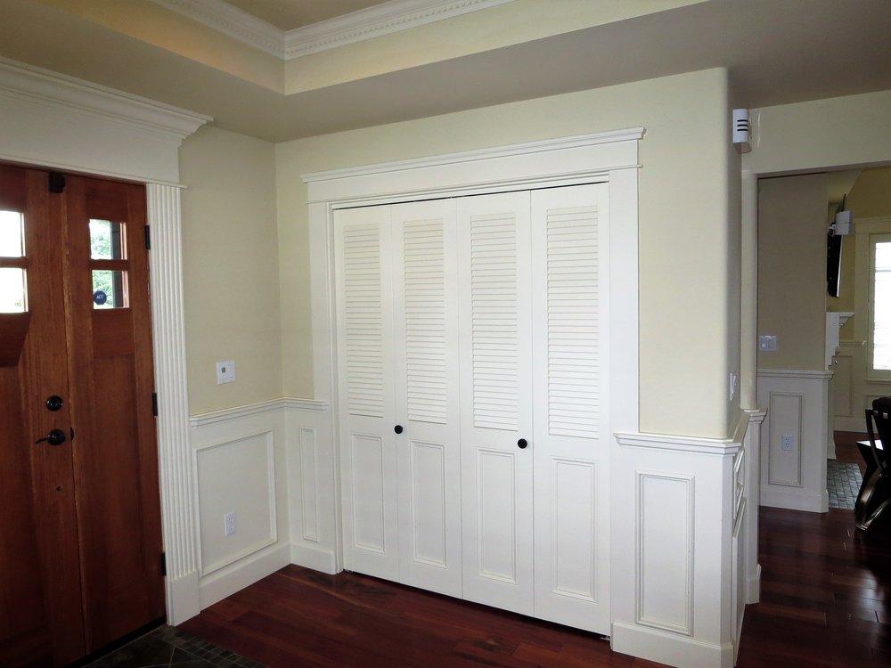 louvered doors.JPG & Louver Doors \u0026 Wood Shutters in Seattle Bellevue Sammamish ...