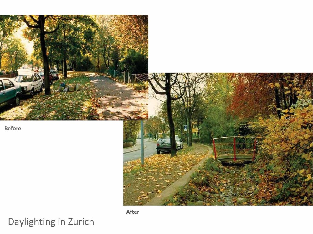 "Zurich's ""Stream Concept"" project"