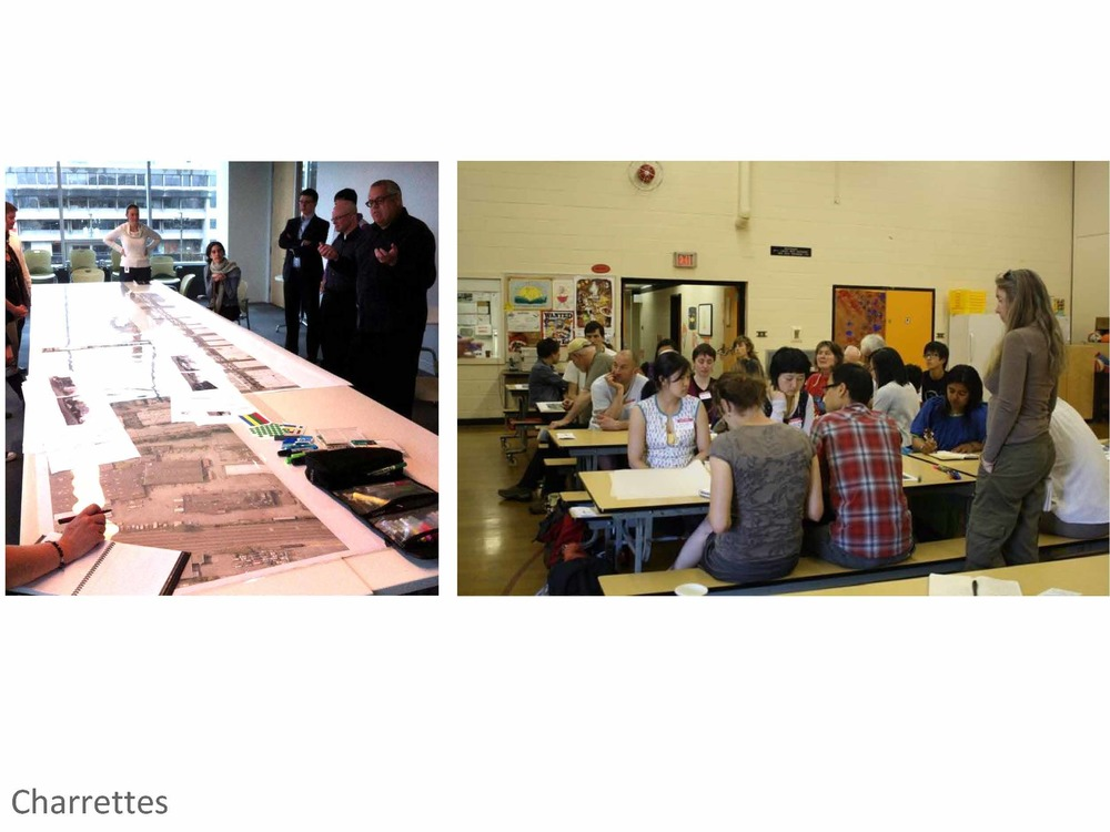 With support from the city, we were able to hold several community design events to explore ideas of potential street redesign. The concept drawings that emerged became a helpful visual tool to talk about the Rainway at neighbourhood events such as the Autumn Shift Festival and MetamorFest.