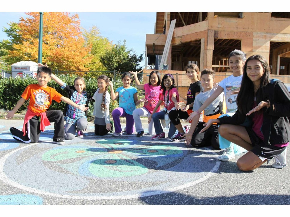 Another excellent example of the Rainway's community engagement was the Creek Forum. Students from Mt Pleasant Elementary school participated during the year-long program.