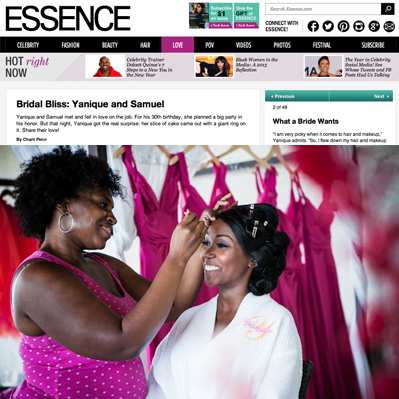 Featured on Essence
