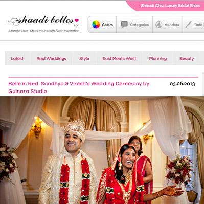 Featured on Shaadi Belles
