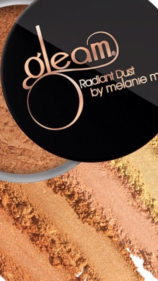 These powders are a staple in my kit and in addition to it's smooth glitter free shimmer, they are awesome as eye shadow as well.