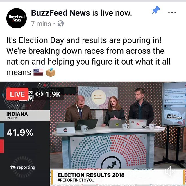 Im biting my nails while I'm tuning into @buzzfeednews to keep track of the #midtermelections Hair and Makeup by the #facethedayny team #promua #setlife #midtermsgotmelike #NycMua #nymakeupartist #glamteam #beautyprofessionals
