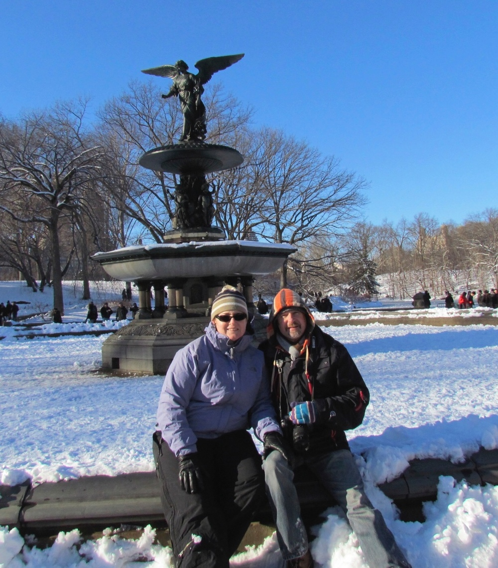 Allison and Paul in Central Park