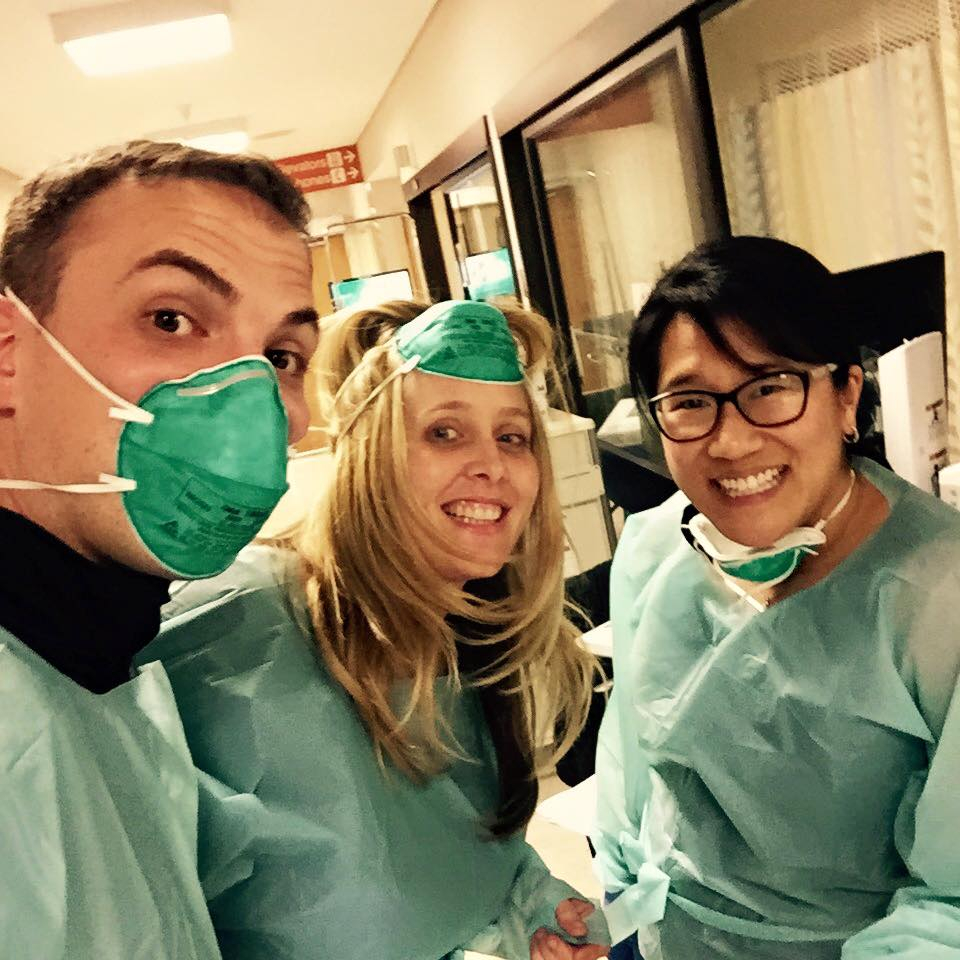 Tania and her colleagues at CPMC