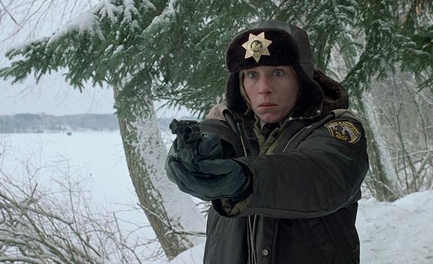 Frances McDormand in Fargo (the movie)
