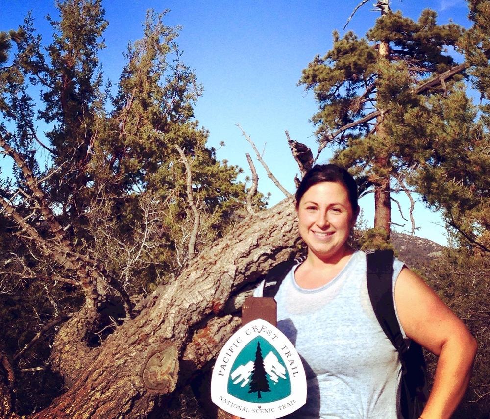 Kara Benik on The Pacific Crest Trail