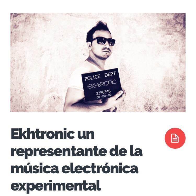 Elevezine ekhtronic - un representante de la musica electronica