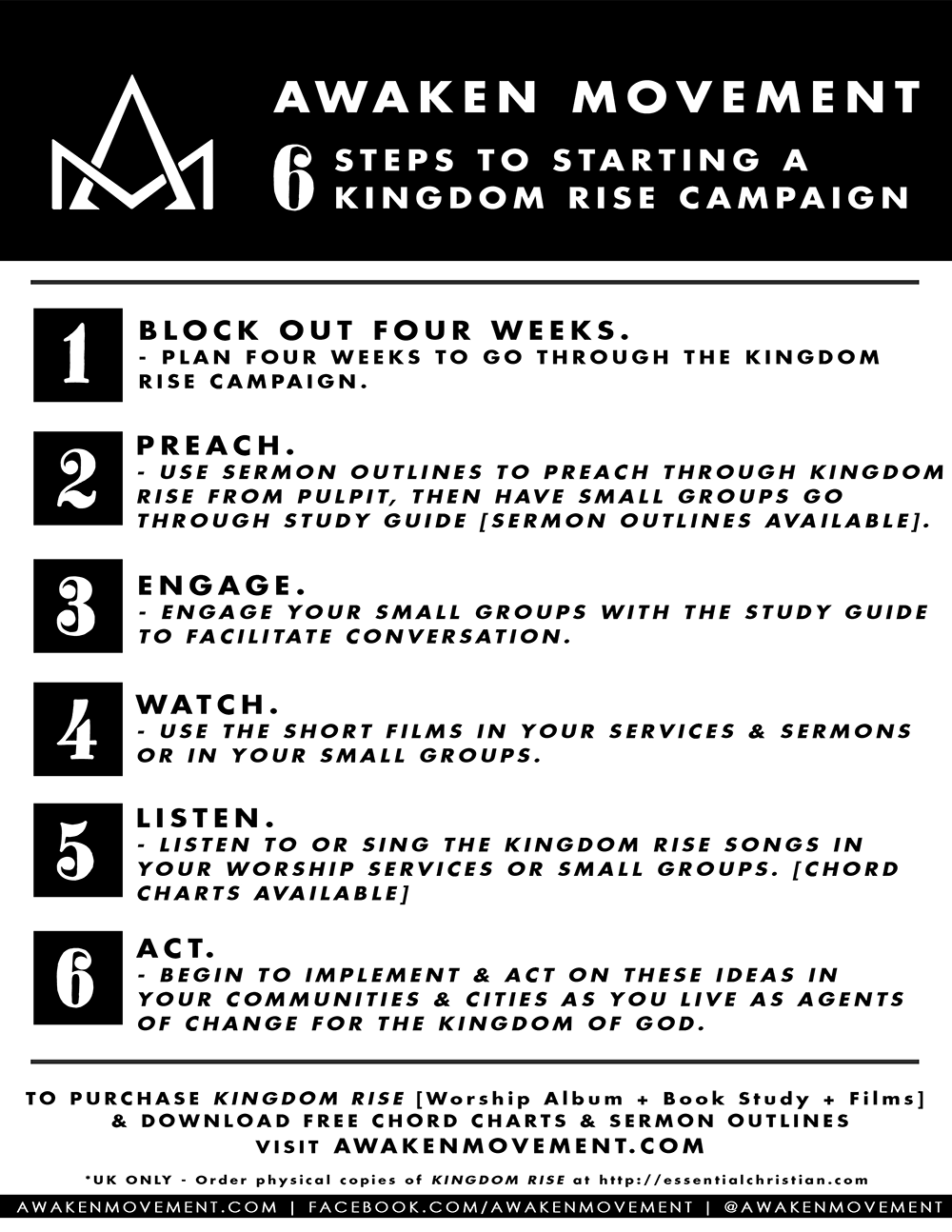 Kingdom Rise Campaign Launch — AWAKEN MOVEMENT