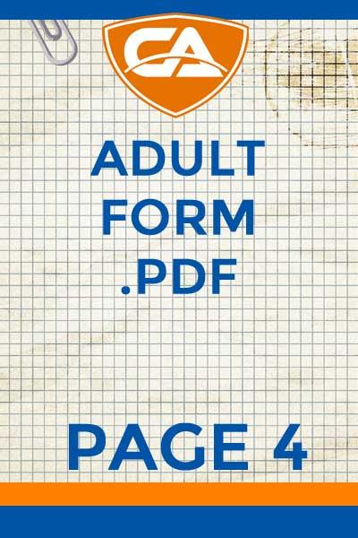 4 Adult Form